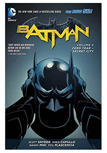 Batman (The New 52) v.4: Zero Year - Secret City TP