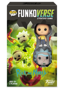 Pop! Funkoverse Strategy Game: Rick & Morty Expandalone