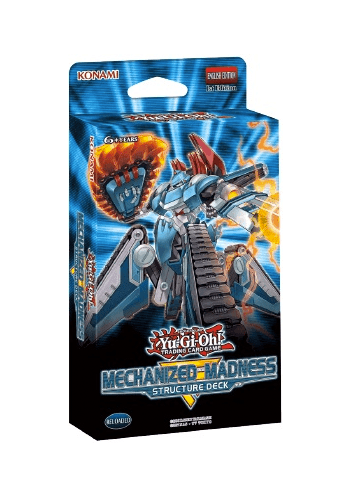 YuGiOh: Mechanized Madness Structure Deck
