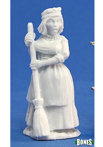 Townsfolk: Grandmother - Plastic Miniature