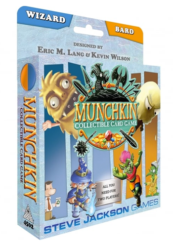 Munchkin CCG: Wizard And Bard Starter Set
