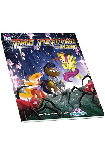 My Little Pony: Tails Of Equestria Festival Of Lights Adventure