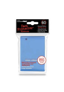 Ultra Pro Sleeves (60 Small) - Light Blue