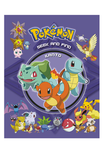 Pokemon Seek And Find: Kanto