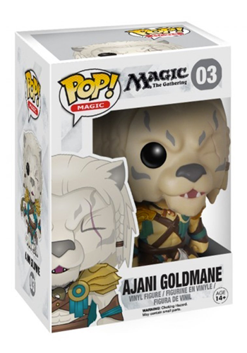 Funko Pop! Magic The Gathering Ajani Goldmane Vinyl Figure