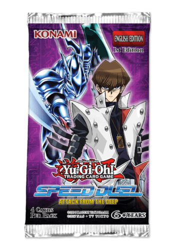 YuGiOh Speed Duel: Attack From The Deep Booster Pack
