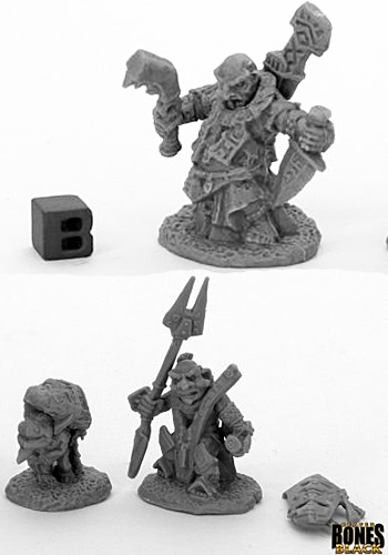 Bloodstone Gnome Heroes - Plastic Miniatures