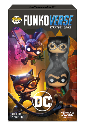 Pop! Funkoverse Strategy Game: DC Comics Expandalone