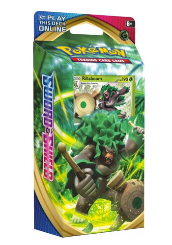 Pokemon Sword & Shield: Rillaboom Deck