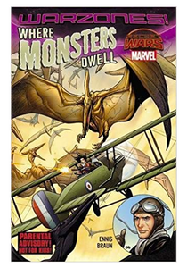 Where Monsters Dwell: The Phantom Eagle Flies The Savage Skies TP (DAMAGED)
