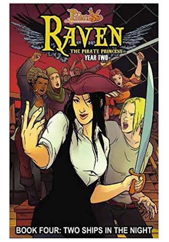 Princeless: Raven The Pirate Princess v.4: Two Ships In The Night TP