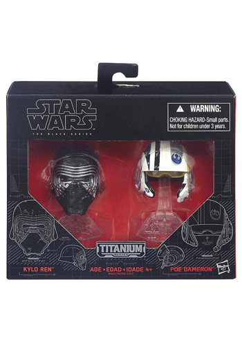 Star Wars Die-Cast Mini Helmet Set