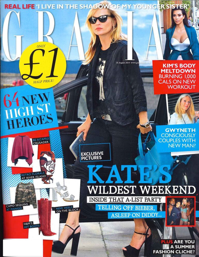 Grazia UK, September 2014