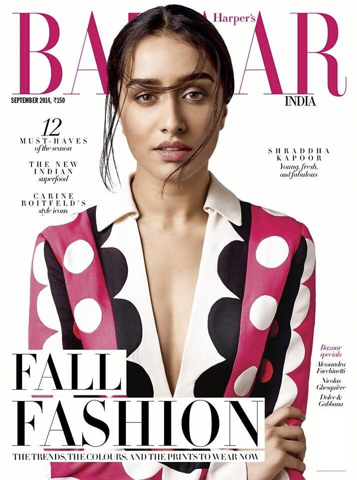 Harper's Bazaar India, September 2014