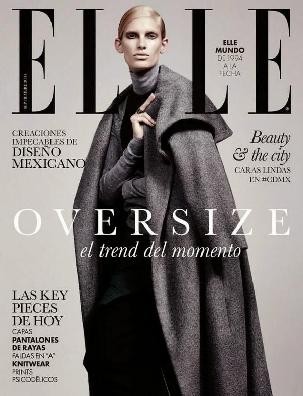 Elle Mexico, September 2014