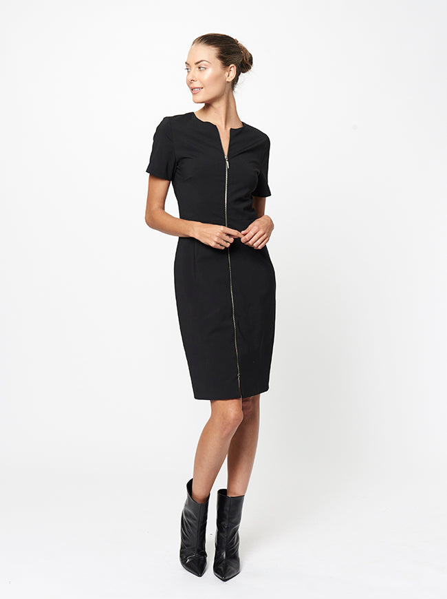 Prabal Gurung ZIP FRONT DRESS