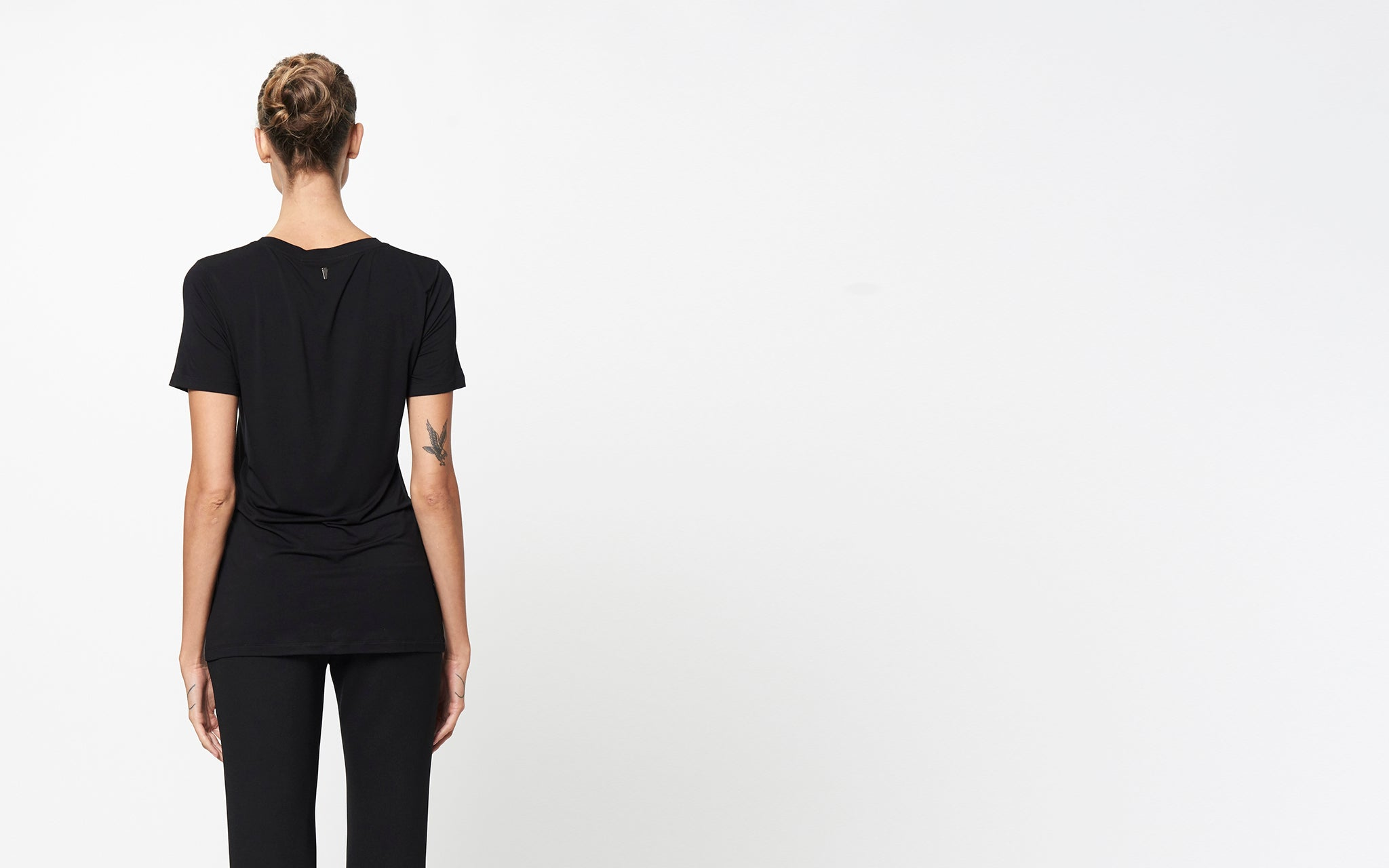 SOLID BLACK TEE   Products – Prabal Gurung c57d8d29cae9