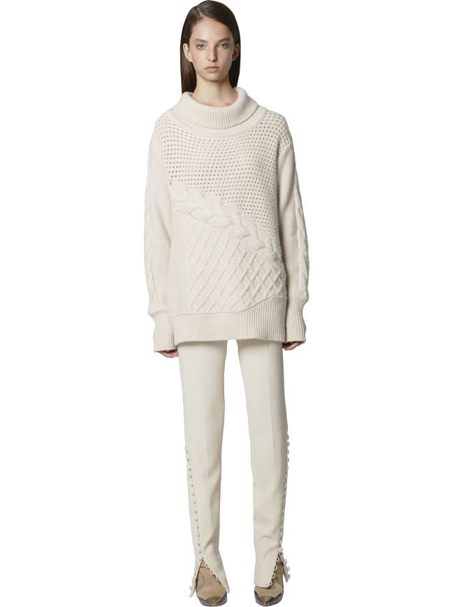 Cashmere Turtleneck Knit
