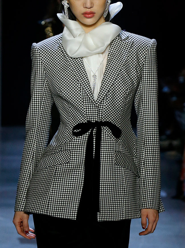 Prabal Gurung SHAL VESTED JACKET