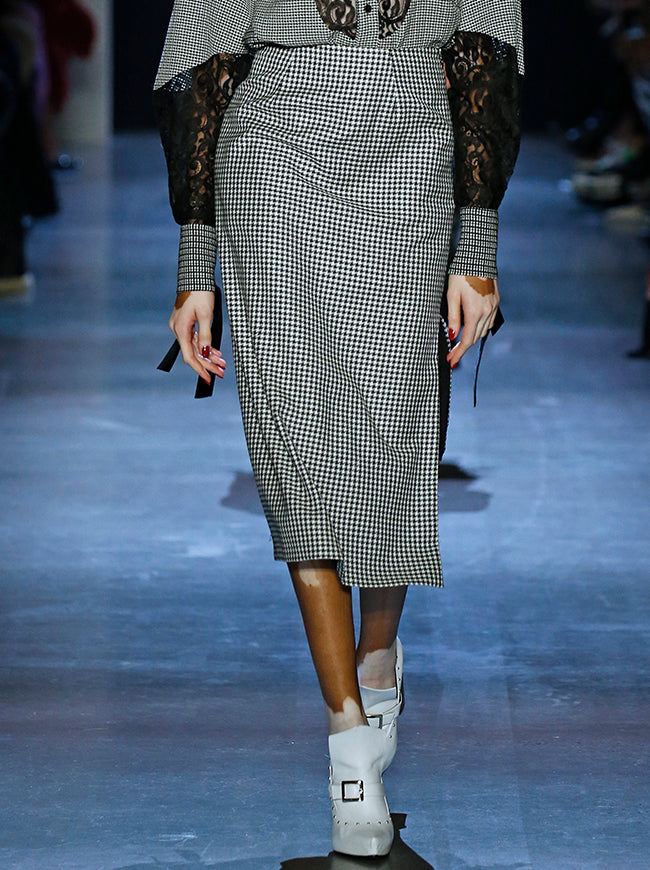 Prabal Gurung SIDE SLIT PENCIL SKIRT