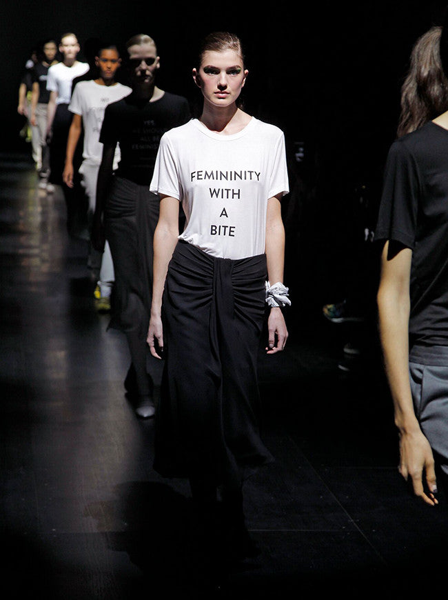 Femininity With a Bite Tee