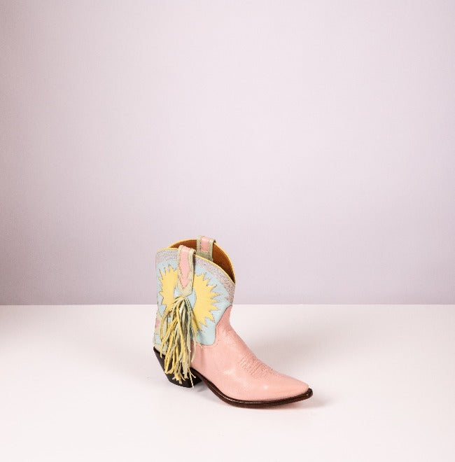 Legend – Pink Parfait, Mint, Daffodil and Celeste Blue Leather