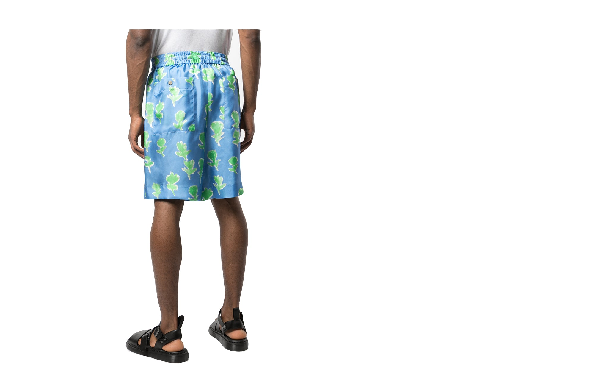 SILK TWILL COMBO BASKETBALL SHORTS