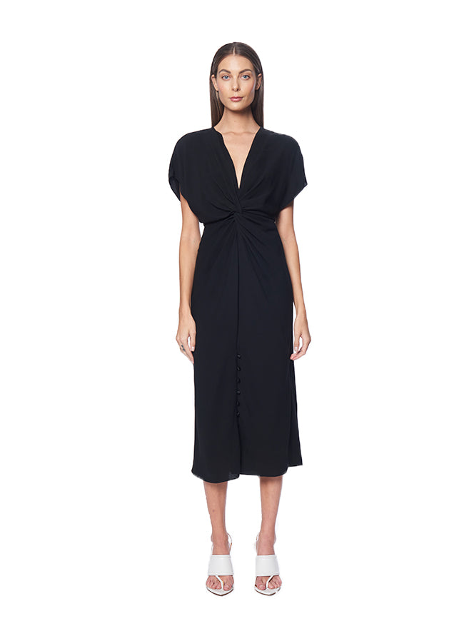 Prabal Gurung Jackie Knot Front Dress