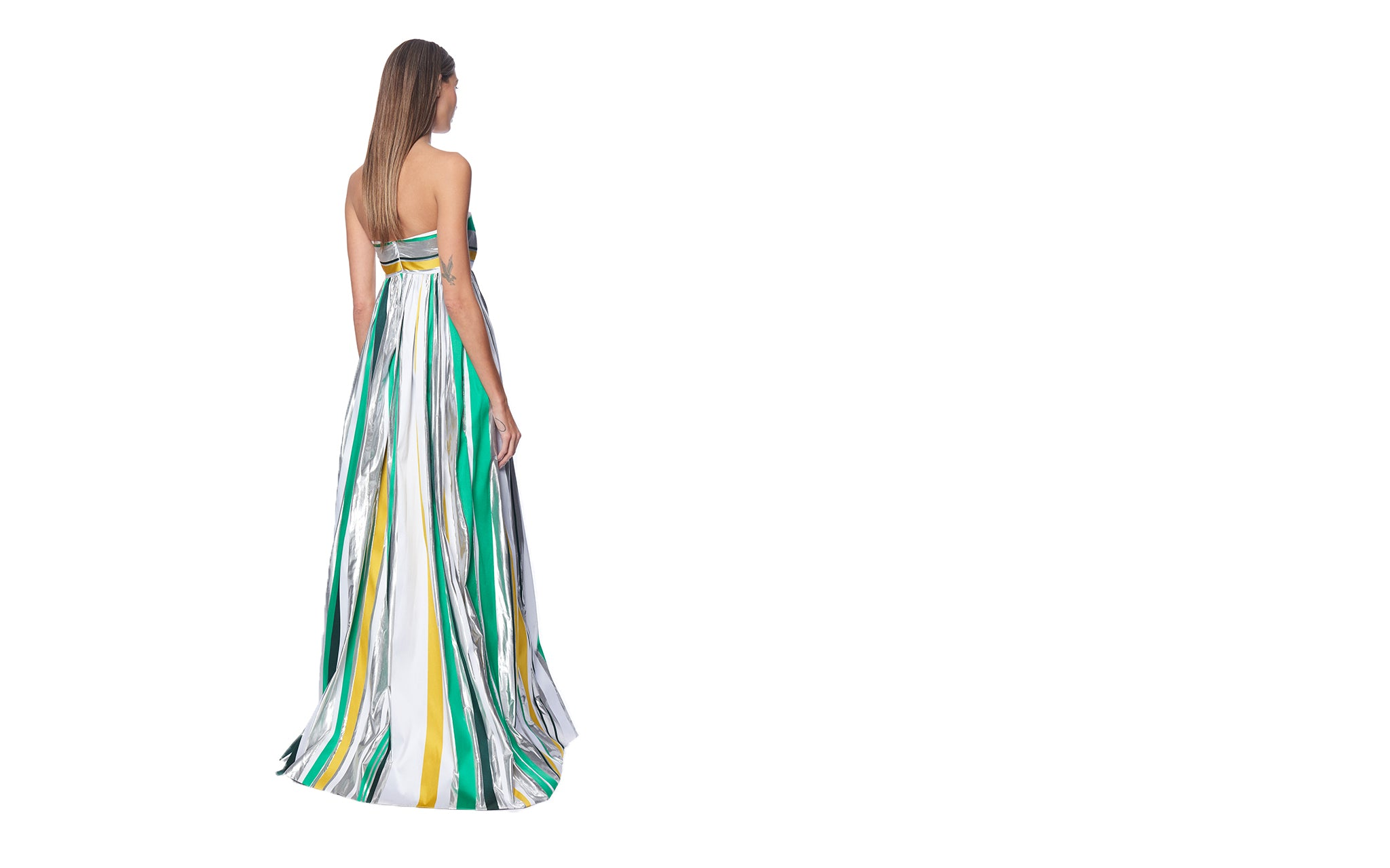 LAYAS STRAPLESS GOWN