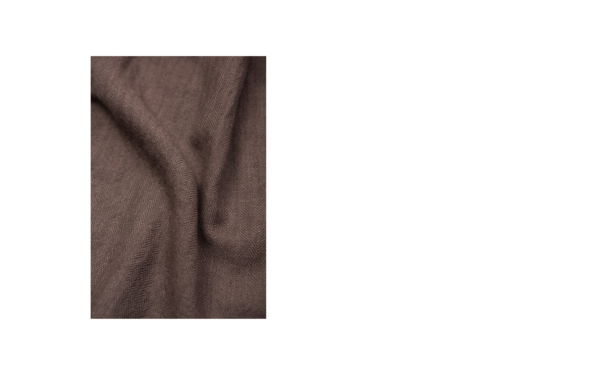 Brown Cashmere Scarf