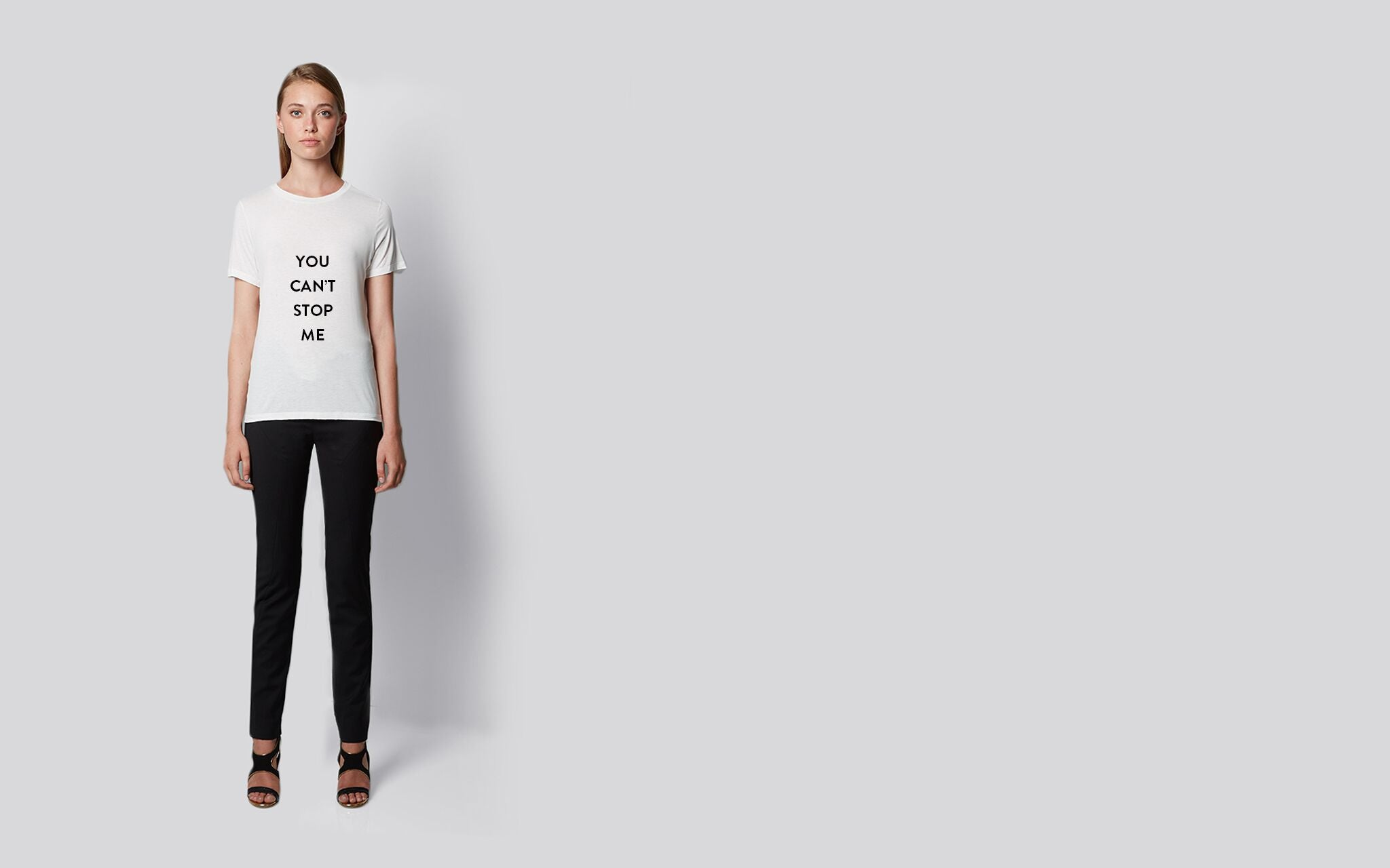 You can't stop me tee