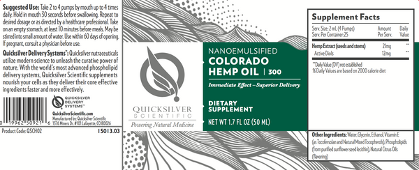 Colorado Hemp Oil | 50ml