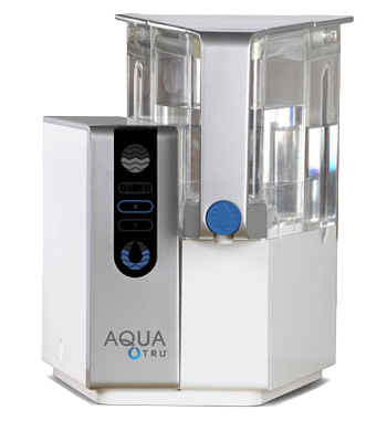 AquaTru: Over the Counter Reverse Osmosis Water Filter