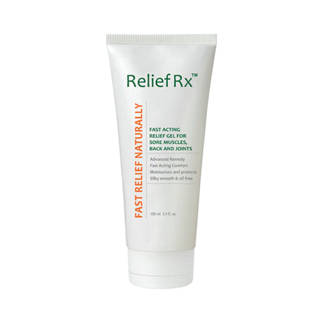 Relief Rx Gel: Aloe Vera & Hemp Oil Blend