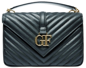 شنطة جي إف فيري Gianfranco Ferre Black Purse