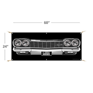 "*COMING SOON* 1964 Chevy Impala | 60""x24"" Banner"