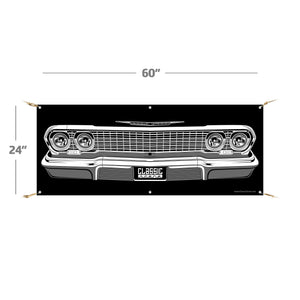 "*COMING SOON* 1963 Chevy Impala | 60""x24"" Banner"