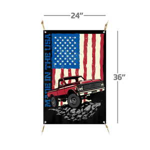 "Made in America | 24""x36"" Banner"