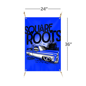 "Square Roots | 24""x36"" Banner"
