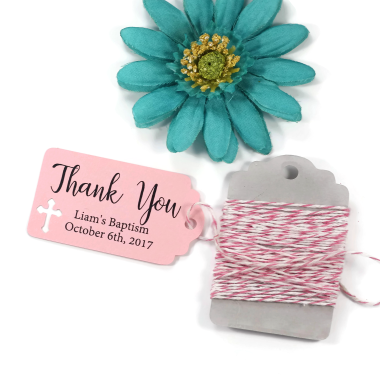Baptism and Religious Favor Tags