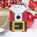 Santa Themed Holiday Gift Tags 10pc-Christmas Tags-The Paper Medley