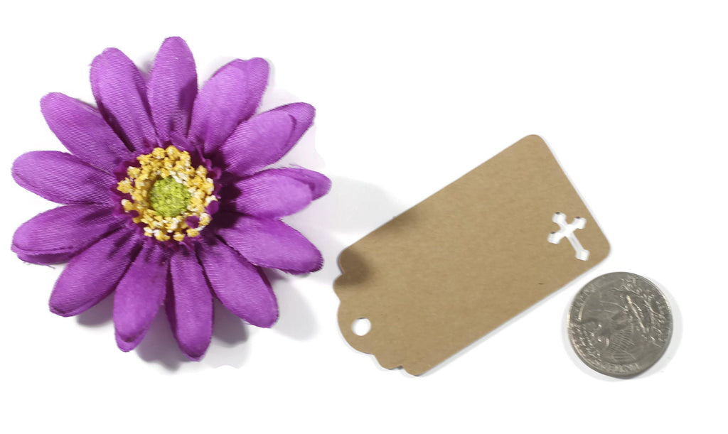 Small Baptism Tags - Thank You - Kraft Brown - 20pc-Baptism Favor Tags-The Paper Medley