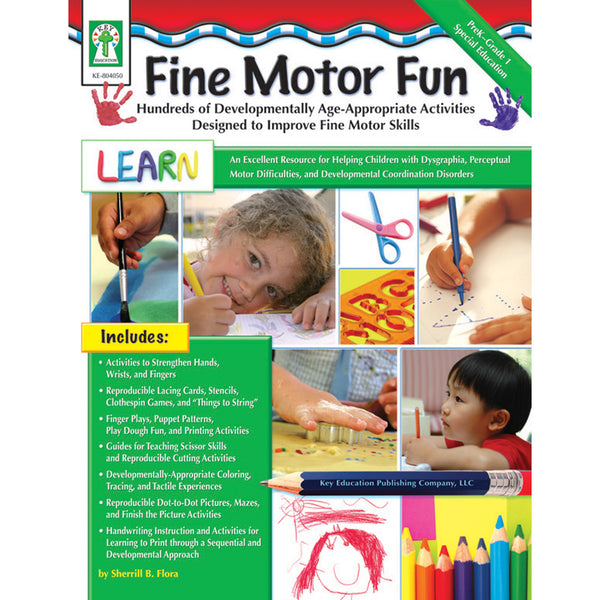 Fine Motor Fun - helps develop visual perception skills!