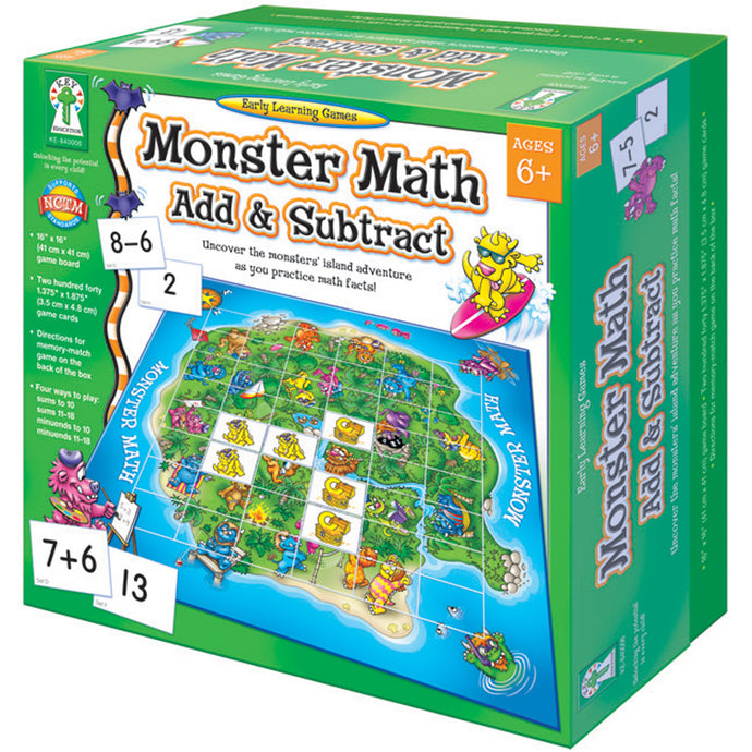Monster Maths Add & Subtract