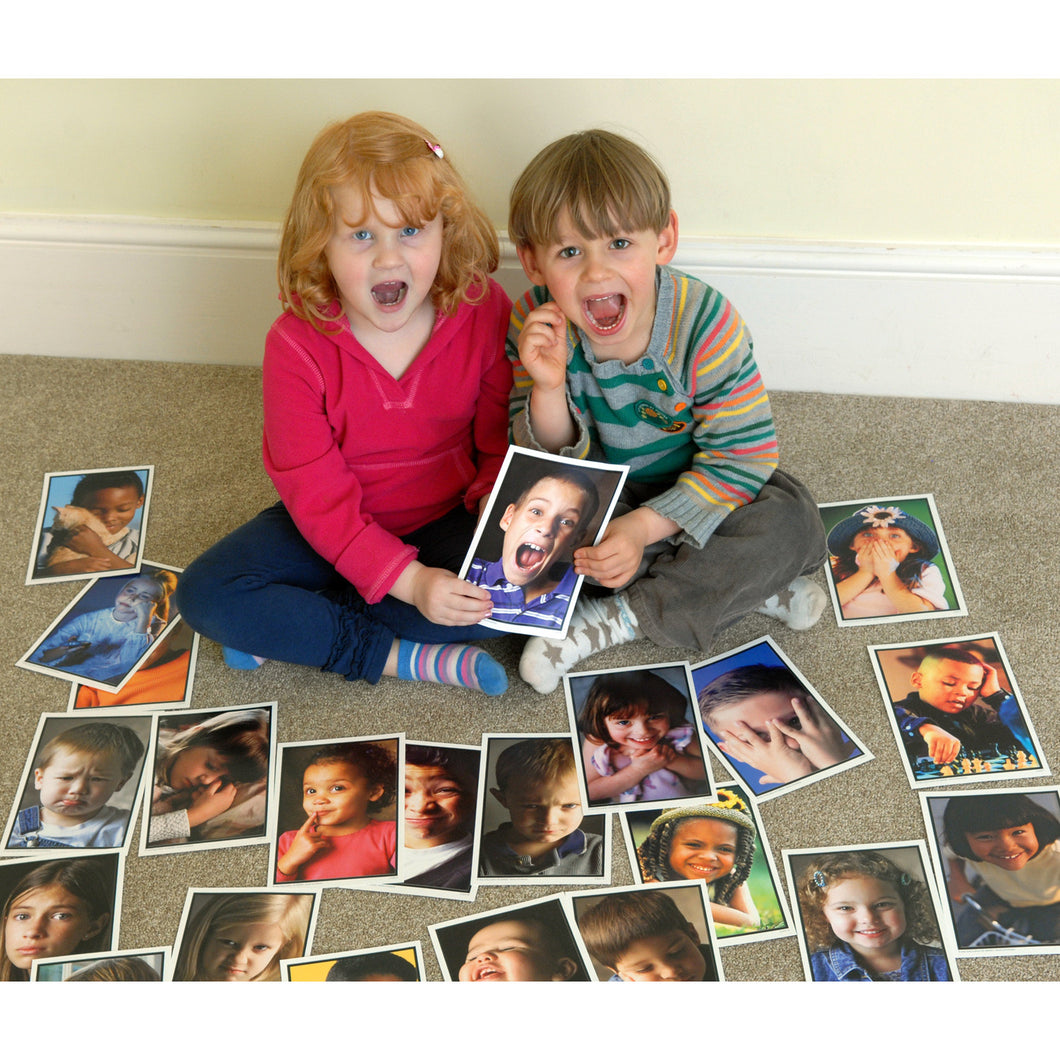 Emotions - Photographic Learning Cards