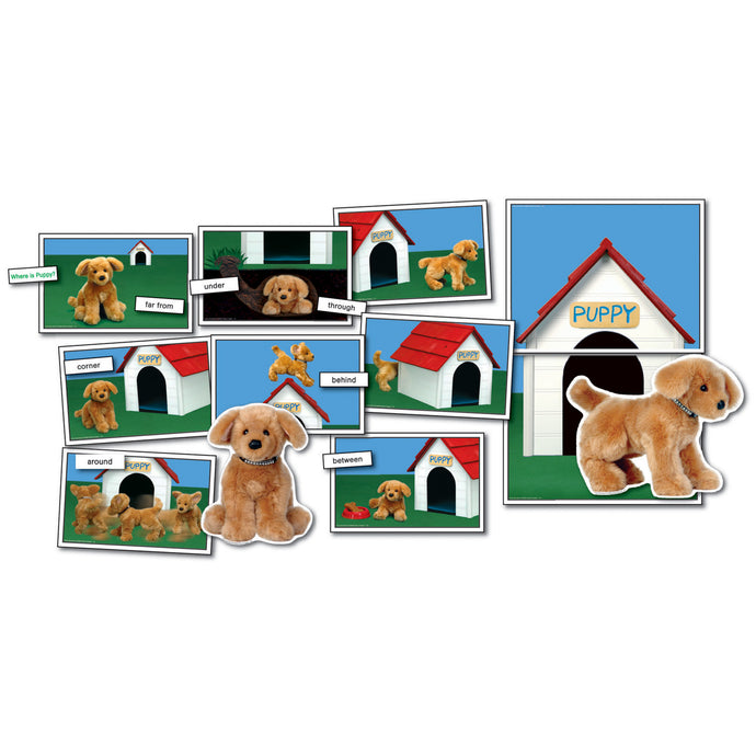 Where is Puppy? - Positional/Directional Concepts Learning Cards