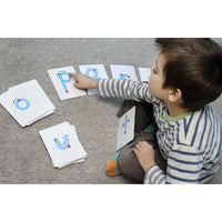 Lowercase Letters - Textured Touch and Trace Cards!