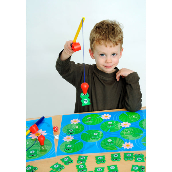 Fishing for Frogs Game (1-20) - Great fun for all!!