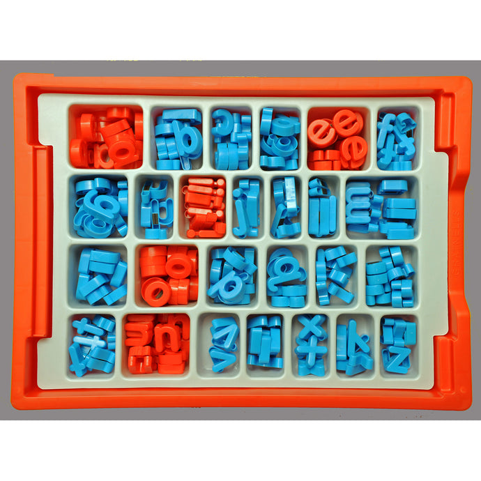 Magnetic Letters - 265 in durable sorting tray