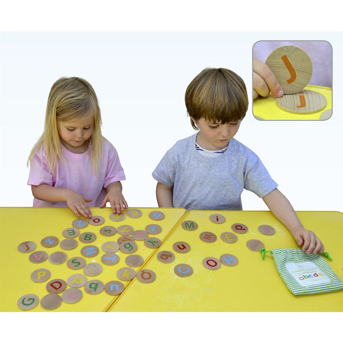 Alphabet Wooden Memory Game